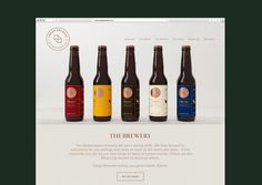 modern. beer, bottle, shape, circle, simple, modern