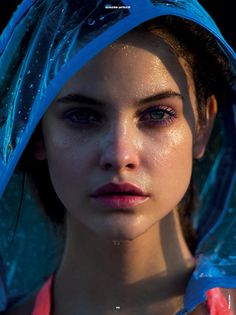 YANN WEBER #photography #blue #portrait #eyes