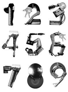 Bureau Bruneau #number #typography