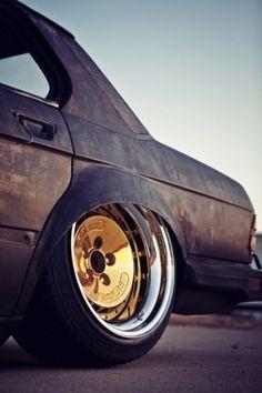 DeadFix » gold hub #hub #matte #black #rides #gold