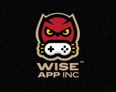 Wise App #owl #branding #apps #snes #gaming #logo