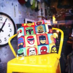 Heroes and Villains Cushion #pillow #superheros