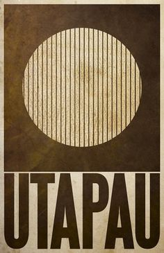 All sizes | Utapau | Flickr - Photo Sharing! #design #wars #poster #star #minimalist