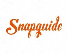 Snapguide by slaterdesign #logo #typo
