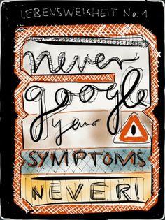 lvlvlvlvlvlvlvl - never google your symptoms. never! #ipad #app #paper