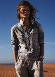 Edita Vilkeviciute for Mango's Catalogue #sexy #model #girl #photography #fashion