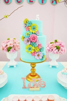 Butterfly Garden Birthday Party Planning Ideas Supplies Idea Shower - floral cakes
