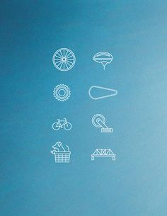 Bike Icons #fixed #design #icons #gear #biking #bike #cycling