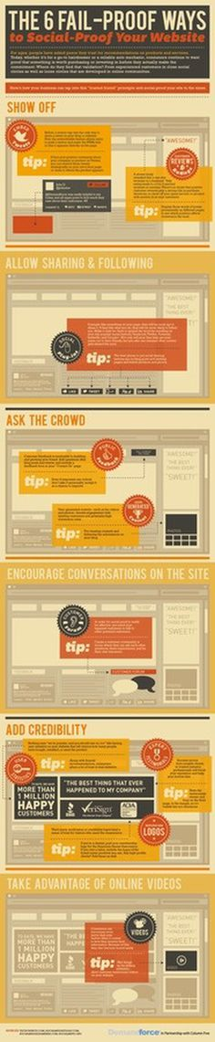 Social Proof Your Web Site #website #infographic #proof #social
