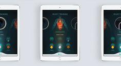Quiro App #uiux #medical #app #surgical #professional #student #video #game #quiro