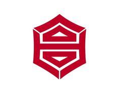 Kanji municipal badge, Japan #logo