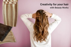 creativity for your hair with beauty works