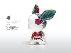 Diploo Studio Munny Customs #diploo #painted #kidrobot #tattoo #munny #made #ceramic #hand #customs
