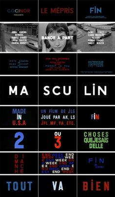 We Make It Good #godard #title #french #film