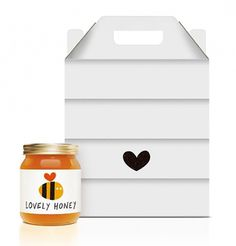 Lovely Package . Curating the very best packaging design. #packaging #jar #honey