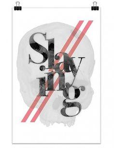 Slaying by Akarapon Kritruenonwong #typography