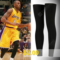 Basketball #Leggings #Socks #And #Long #Protective #Leg #Set #Professional #Sports #Knee #Protection #Jacket #I #Equipment #Socks #Men's #Sunscreen #Breathable #- #L