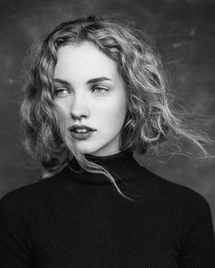 Gorgeous Female Portrait Photography by Tony Ellis