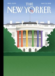 Cover Story: Bob Staake on Barack Obama and Gay Marriage : The New Yorker #yorker #magazine #new