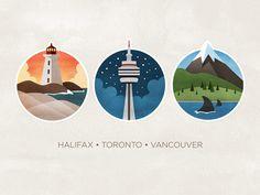 Canada #illustration