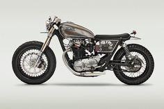 Yamaha XS650 cafe racer #yamaha #motorcycle