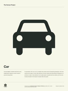 The Human Project Poster (Car)