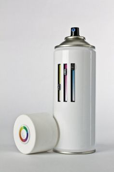 http://pinterest.com/pin/207376757811432864/ #colour #can #spray