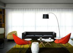 New OKKO Hotel by Patrick Norguet okko hotel living area #hotel #lobby #design