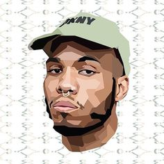 Anderson .Paak Illustration by Nate Panetti