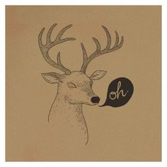 FFFFOUND! | Oh deer | Flickr - Photo Sharing! #illustration