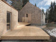 Modern Wooden Family House