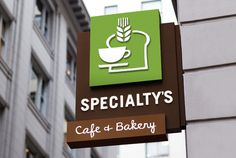 Building sign #logo #bakery #cafe