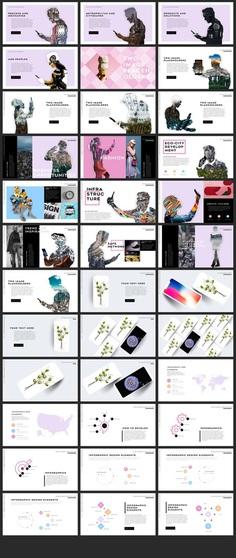 Communication PowerPoint Template — Presentation on UI8