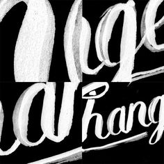 Changes Lettering Detail #lettering #quote #changes #bowie #typography