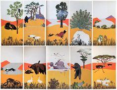 Animalarium: Iela Mari returns #infinite #illustration #cards #animal