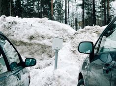 Johannes Romppanen | Foragepress.com #photography #winter #snow #cars