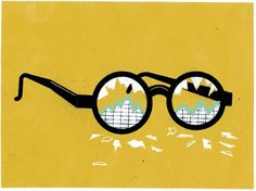 Yarek Waszul Illustration #glasses #waszul #illustration #poster #chart