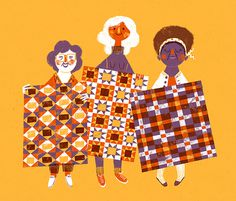 c_quilt_1200 #women #illustration #pattern