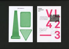 Visible Language / Why Not Smile #design #graphic #editorial #typography