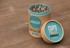JOCO on Behance #identity #coffee #paper #cup #package