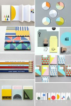 Supercool stationary by Present & Correct #products #pattern #stationery