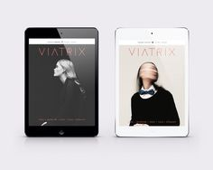 VIATRIX | the magazine on Behance #digital #magazine #editorial #travel #logo #ipad #digital magazine #layout