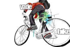 vá de bike #illustration #bike