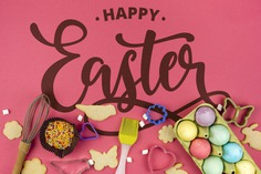 Happy easter day Free Psd. See more inspiration related to Flower, Mockup, Template, Bird, Butterfly, Typography, Spring, Celebration, Happy, Font, Holiday, Mock up, Easter, Religion, Rabbit, Egg, Calligraphy, Lettering, Cookie, Traditional, View, Up, Day, Top, Top view, Biscuit, Cultural, Tradition, Sprinkles, Mock, Mold, Seasonal, Beater and Paschal on Freepik.
