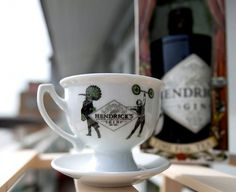 Hendrick's Gin Tea Cup (NOTCOT) #product #gin #hendricks
