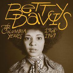 betty davis #typograpy #album cover