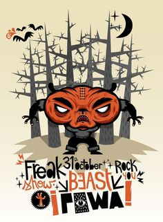 Beast Powa - BloodSweatVector #tougui #illustration #vector #freak