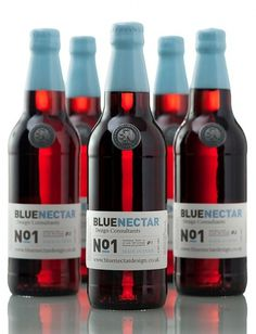 Lovely Package® . The leading source for the very best that package design has to offer. #blue nectar bottle