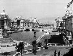 Chicago+World's+Fair+1893.jpg 1600×1246 pixels #chicago #white #city #black #photograph #fair #and #historic