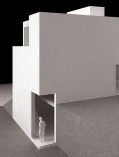 vora arquitectura en procés #solid #void #architecture #white